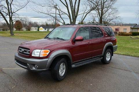 2003 Toyota Sequoia for sale at West Chester Autos in Hamilton OH