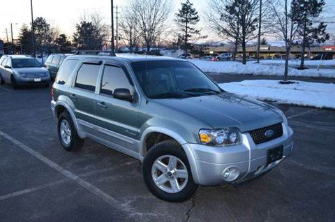 2007 Ford Escape Hybrid for sale at West Chester Autos in Hamilton OH