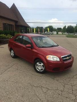 2009 Chevrolet Aveo for sale at West Chester Autos in Hamilton OH