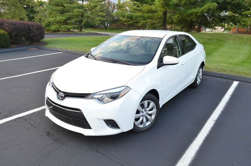 2015 Toyota Corolla for sale at West Chester Autos in Hamilton OH