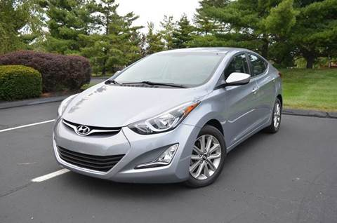 2015 Hyundai Elantra for sale at West Chester Autos in Hamilton OH