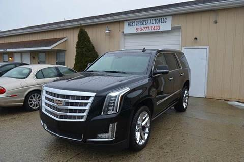 2017 Cadillac Escalade for sale at West Chester Autos in Hamilton OH