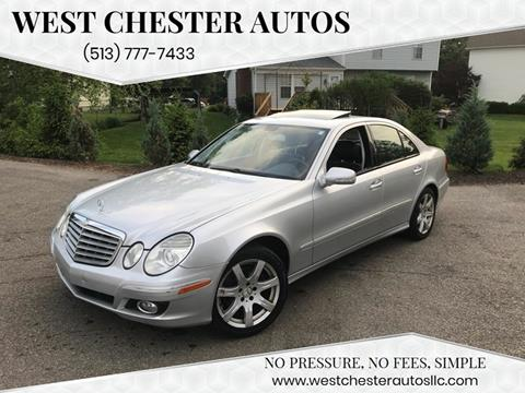 2007 Mercedes-Benz E-Class for sale at West Chester Autos in Hamilton OH