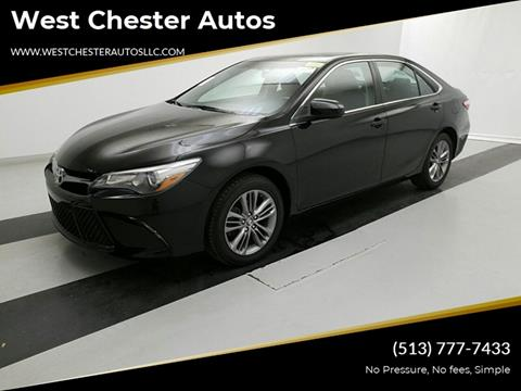2016 Toyota Camry for sale at West Chester Autos in Hamilton OH