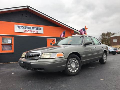 2003 Ford Crown Victoria for sale at West Chester Autos in Hamilton OH