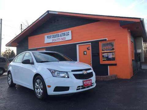 2014 Chevrolet Cruze for sale at West Chester Autos in Hamilton OH