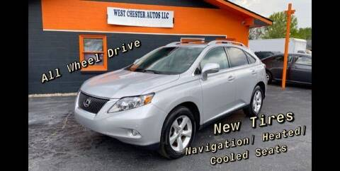 2010 Lexus RX 350 for sale at West Chester Autos in Hamilton OH