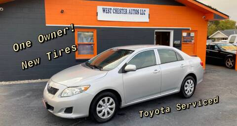 2010 Toyota Corolla for sale at West Chester Autos in Hamilton OH