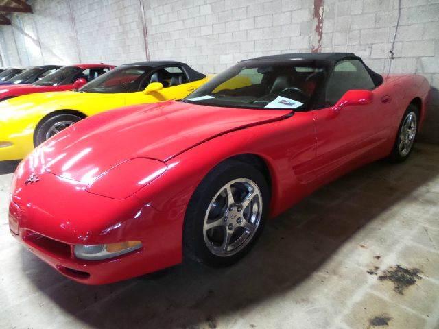 2004 Chevrolet Corvette for sale at Mac's Sport & Classic Cars in Saginaw MI