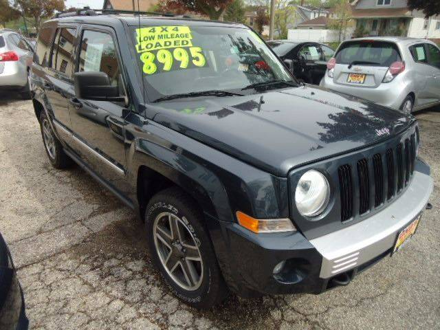 2008 Jeep Patriot 4x4 Limited 4dr SUV w/CJ1 Side Airbag Package - Milwaukee WI