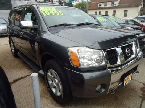 2004 Nissan Armada for sale in Milwaukee, WI
