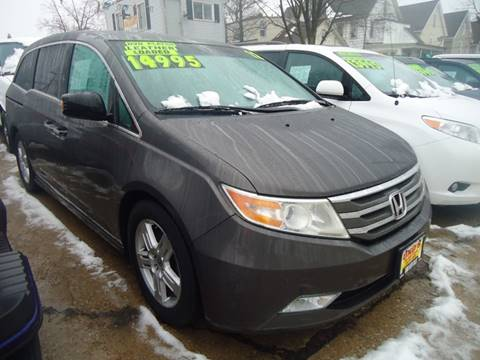 2012 Honda Odyssey for sale at Uno's Auto Sales in Milwaukee WI