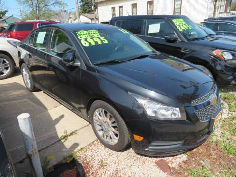2012 Chevrolet Cruze for sale at Uno's Auto Sales in Milwaukee WI
