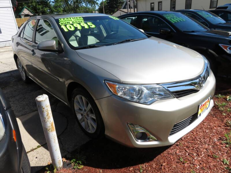 2013 Toyota Camry for sale at Uno's Auto Sales in Milwaukee WI