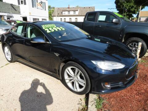 2012 Tesla Model S for sale at Uno's Auto Sales in Milwaukee WI