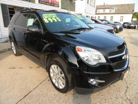2011 Chevrolet Equinox for sale at Uno's Auto Sales in Milwaukee WI