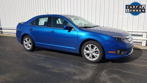 2012 Ford Fusion for sale in Silver Lake, IN