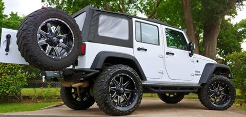 2016 Jeep Wrangler Unlimited for sale in Houston, TX