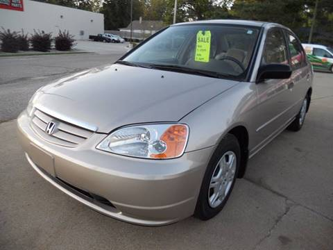 2001 Honda Civic for sale in Marshall, MI