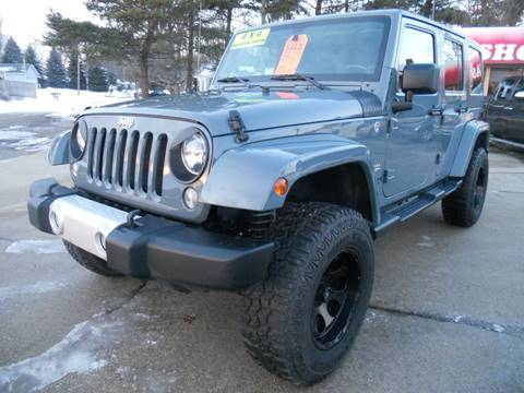 2014 Jeep Wrangler Unlimited for sale in Marshall, MI