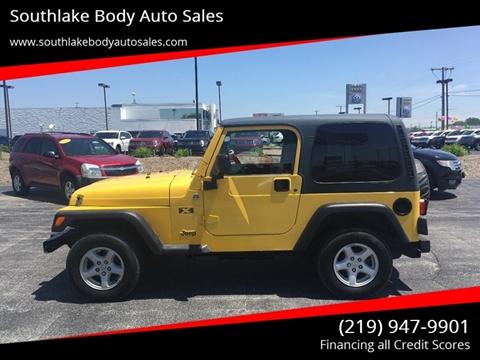 2006 Jeep Wrangler for sale in Merrillville, IN