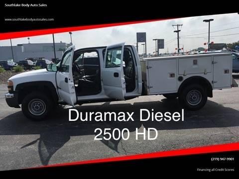 2005 Gmc Sierra 2500Hd Crew Cab - Duramax Diesel - Utility Truck In