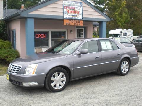 2007 Cadillac DTS for sale in Newton, NJ