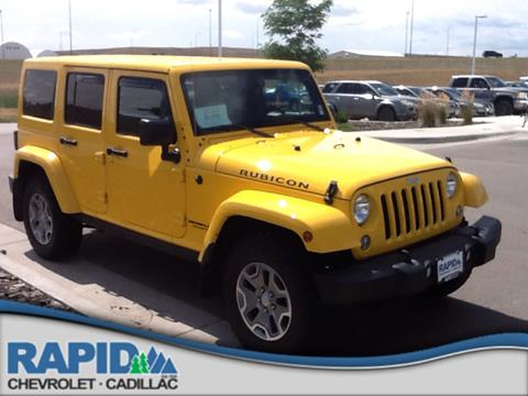 2015 Jeep Wrangler Unlimited for sale in Rapid City SD