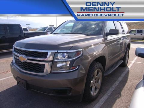2016 Chevrolet Tahoe LT for sale at RAPID CHEVROLET CADILLAC in Rapid City SD