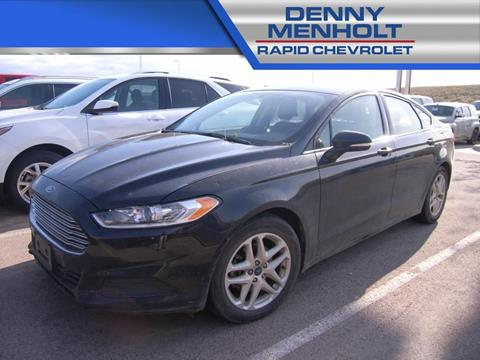 2015 Ford Fusion SE for sale at RAPID CHEVROLET CADILLAC in Rapid City SD