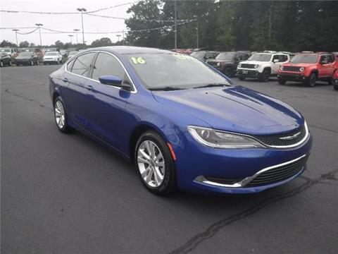 2016 Chrysler 200 for sale in Easley, SC