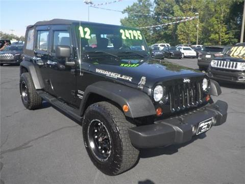 2012 Jeep Wrangler Unlimited for sale in Easley, SC