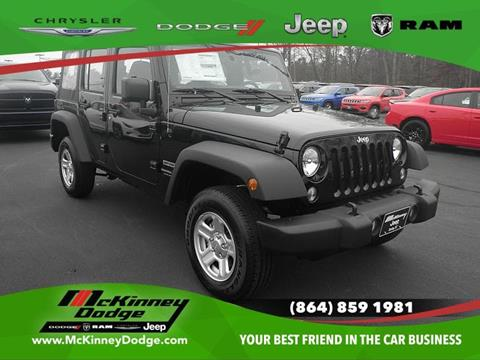 2018 Jeep Wrangler Unlimited for sale in Easley, SC