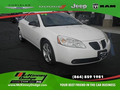 2008 Pontiac G6 for sale in Easley, SC