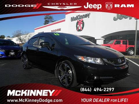 2015 Honda Civic for sale in Easley, SC