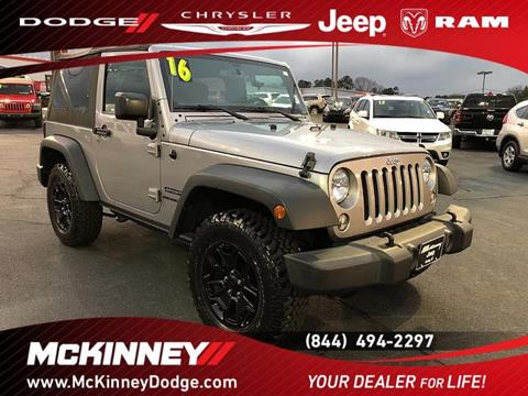 2016 Jeep Wrangler for sale in Easley, SC