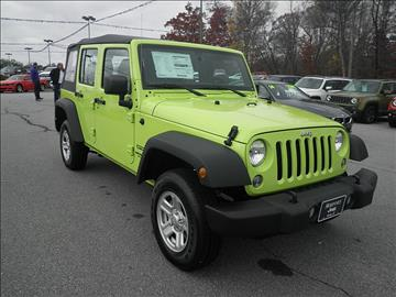 2017 Jeep Wrangler Unlimited for sale in Easley, SC