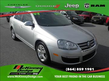 2008 Volkswagen Jetta for sale in Easley, SC