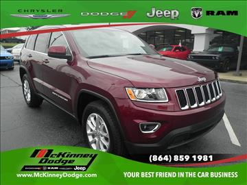 2016 Jeep Grand Cherokee for sale in Easley, SC