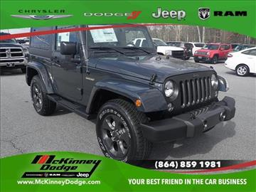 2017 Jeep Wrangler for sale in Easley, SC