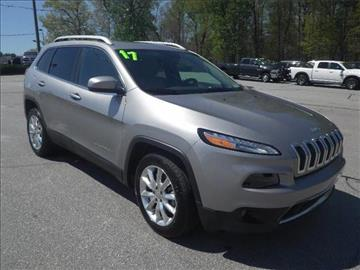 2017 Jeep Cherokee for sale in Easley, SC