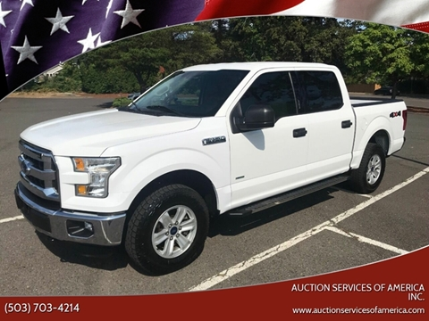 2015 F 150 For Sale >> Ford F 150 For Sale In Milwaukie Or Auction Services Of