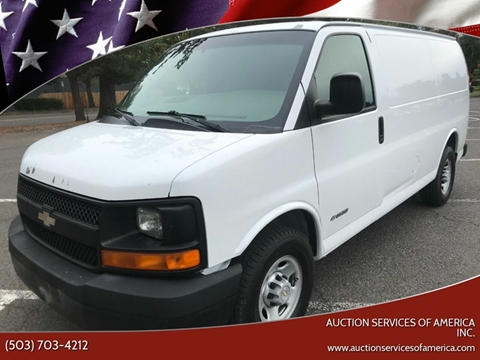 outlet online beauty detailed images Chevrolet Express Cargo For Sale in Milwaukie, OR - Auction ...