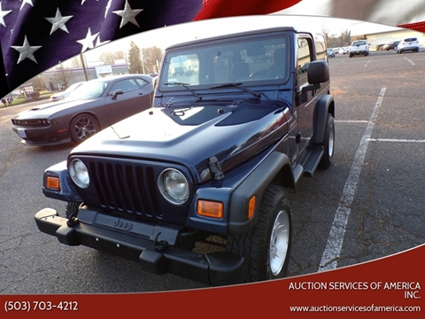 2005 Jeep Wrangler for sale in Milwaukie, OR