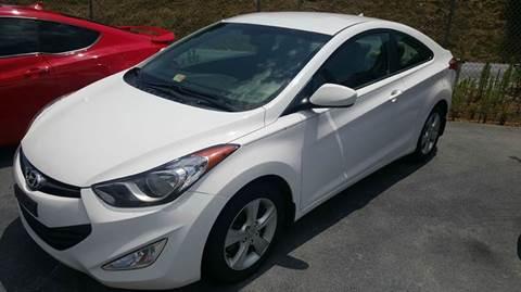 2013 Hyundai Elantra Coupe for sale at Green Tree Motors in Elizabethton TN