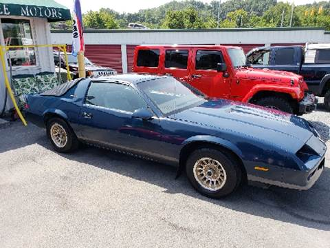 1985 Chevrolet Camaro for sale at Green Tree Motors in Elizabethton TN