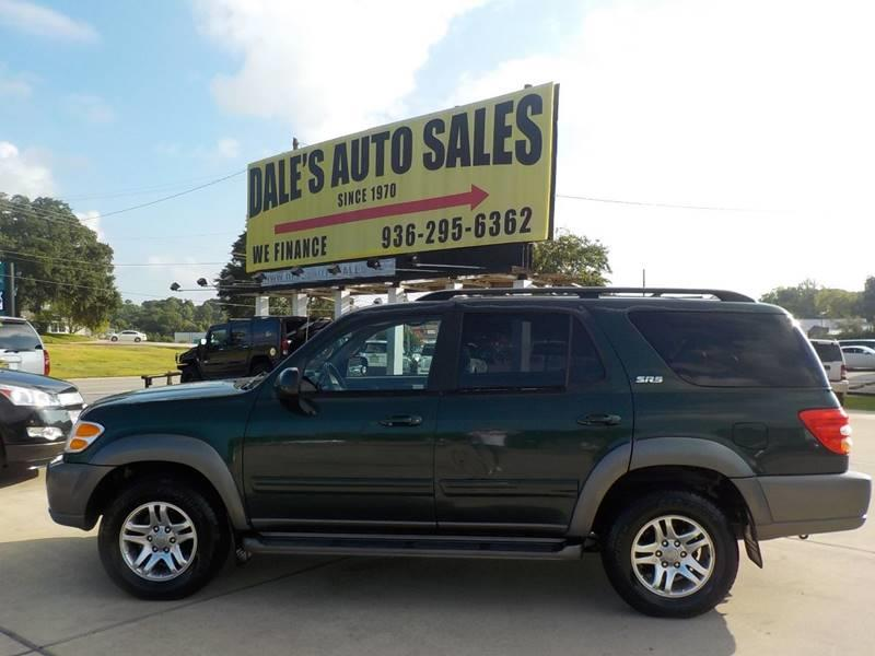 2004 toyota sequoia sr5 in huntsville tx dales auto sales 2004 Toyota Sequoia Front Speakers 2004 toyota sequoia for sale at dales auto sales in huntsville tx