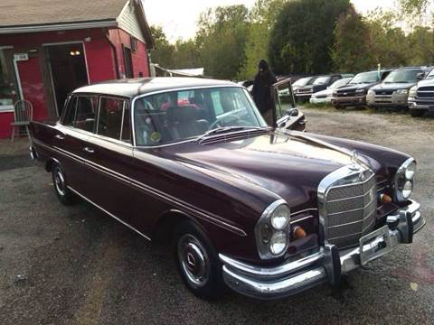 1966 Mercedes-Benz S-Class for sale at KB Auto Mall LLC in Akron OH