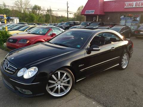 2004 Mercedes-Benz CLK-Class for sale at KB Auto Mall LLC in Akron OH
