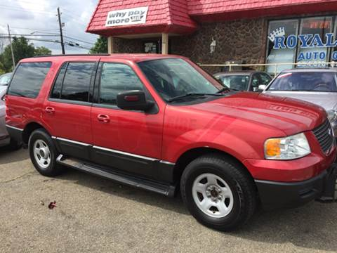 2003 Ford Expedition for sale at KB Auto Mall LLC in Akron OH